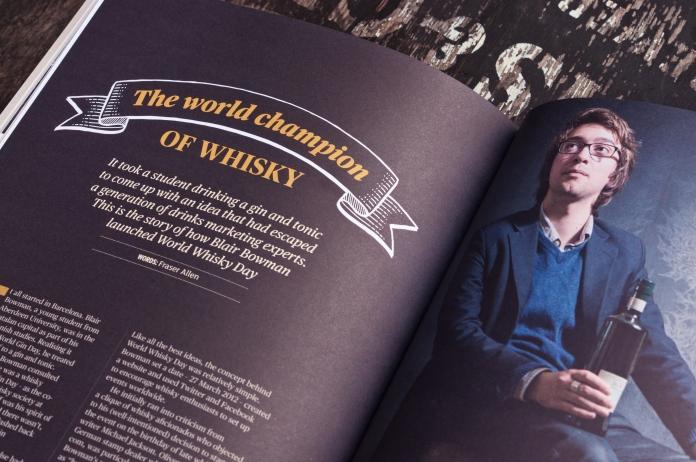 Blair Bowman World Champion of Whisky